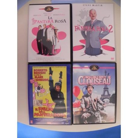 LA PANTERA ROSA 4 DVD COLLEZIONE REMAKE APOCRIFI BENIGNI STEVE MARTIN