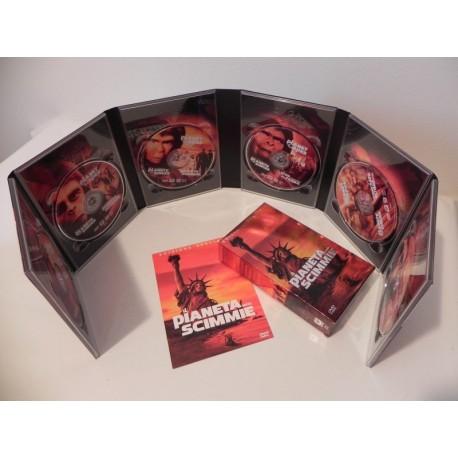 IL PIANETA DELLE SCIMMIE EDIZIONE SPECIALE 6 DVD COFANETTO RARO DA COLLEZIONE