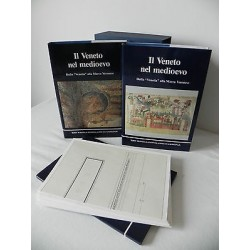 IL VENETO NEL MEDIOEVO DALLA VENETIA ALLA MARCA VERONESE LIBRO 1989 2VV + TAVOLE