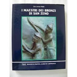 I MAESTRI DEI BRONZI DI SAN ZENO LIBRO FORMELLE ARTE 1992 BANCA POPOLARE VERONA