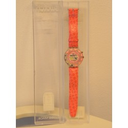 OROLOGIO SWATCH PINK PLEASURE - SDN900 - 1996 - SCUBA