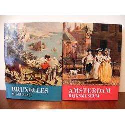 BRUXELLES MUSEI REALI d'HULST & AMSTERDAM RIJKSMUSEUM MEIJER LIBRO ARTE PITTURA