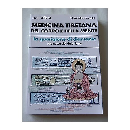 MEDICINA TIBETANA DEL CORPO E DELLA MENTE LIBRO TERRY CLIFFORD - MEDITERRANEE