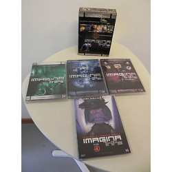 IMAGINA TRIPS FESTIVAL DVD SERIE VOL 1 2 3 4 ANNI 02-03 2004 2005 2006 2007 2008