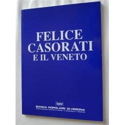 FELICE CASORATI E IL VENETO LIBRO MONOGRAFIA 1994 BANCA POPOLARE DI VERONA