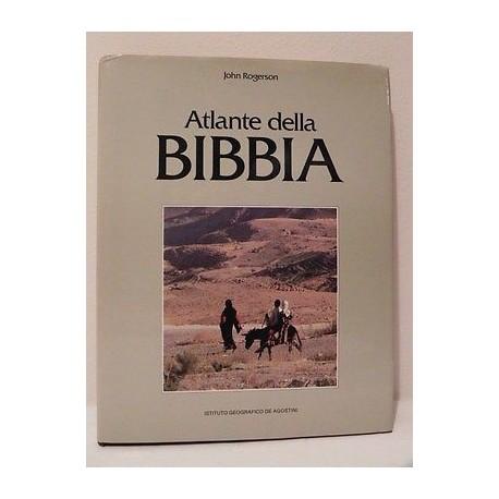 ATLANTE DELLA BIBBIA LIBRO JOHN ROGERSON - ISTITUTO GEOGRAFICO DE AGOSTINI