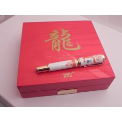 MONTBLANC YEAR OF THE GOLDEN DRAGON 888 LIMITED PENNA STILOGRAFICA FOUNTAIN PEN
