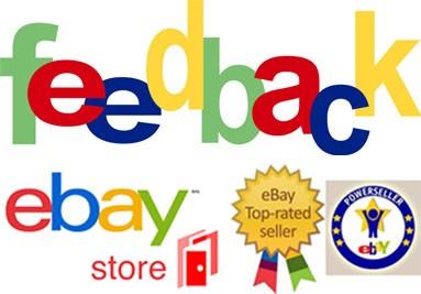 I nostri feedback positivi su eBay - Venditore Affidabilità Top
